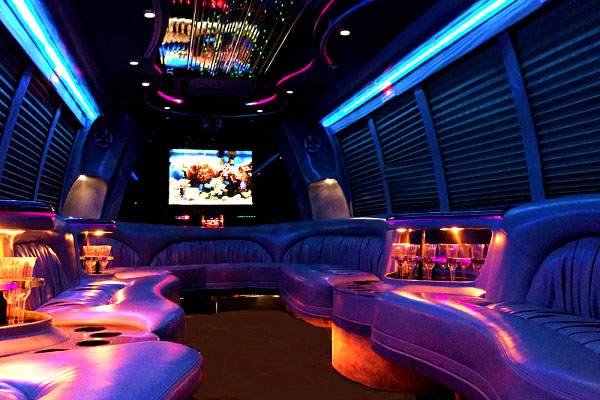 18 Passenger Party Bus Rentals Toledo