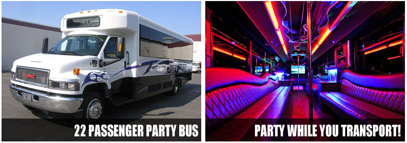 Airport Transportation Party Bus Rentals Toledo
