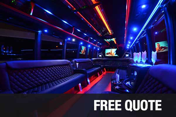 Prom & Homecoming Party Buses For Rental Toledo